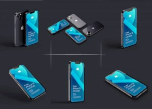 6-free-realistic-iphone-13-3d-rendered-mockup-psd-set