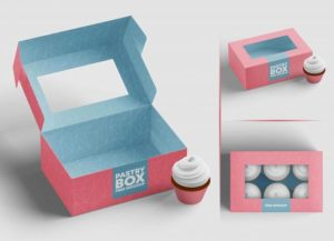 free-cup-cakes-pastry-packaging-box-mockup-psd-set