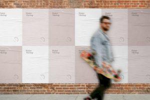 posters-on-brick-wall-mockup