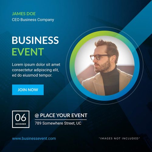 business event template