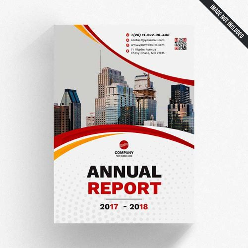 report psd cover