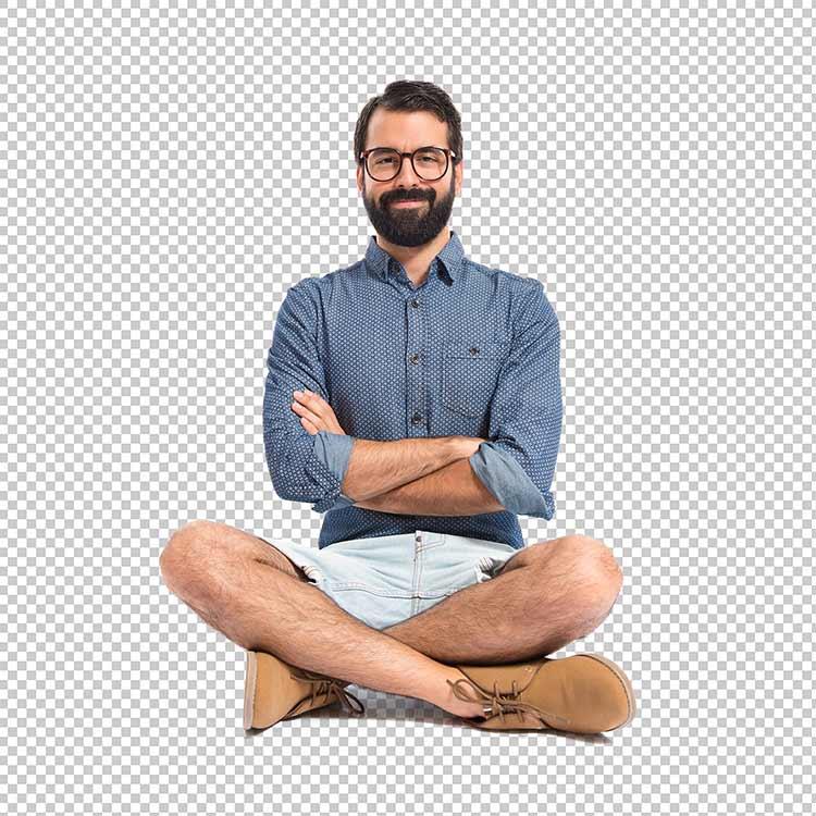 رجل يرتدي بنطال قصير png