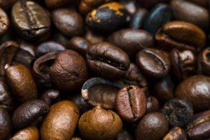 خلفية حبوب قهوة