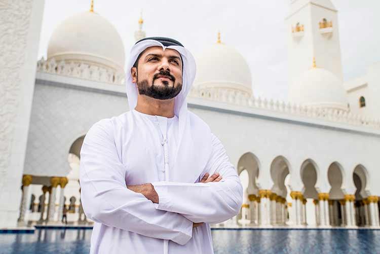 خلفية مسلم خليجي