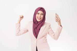 صورة مسلمة محجبة