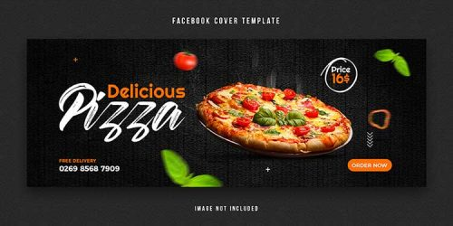 pizza facebook cover