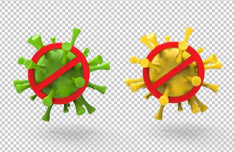 فيروس كورونا PSD