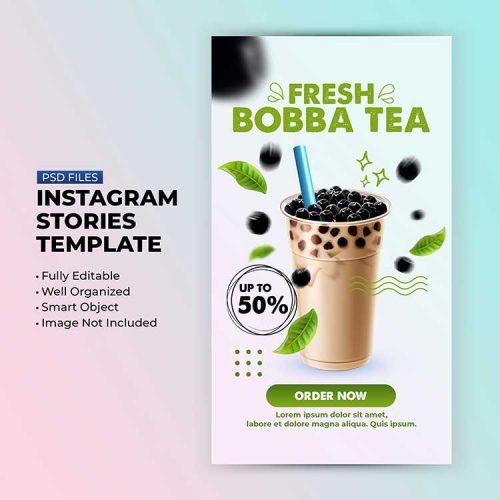 instagram offer template