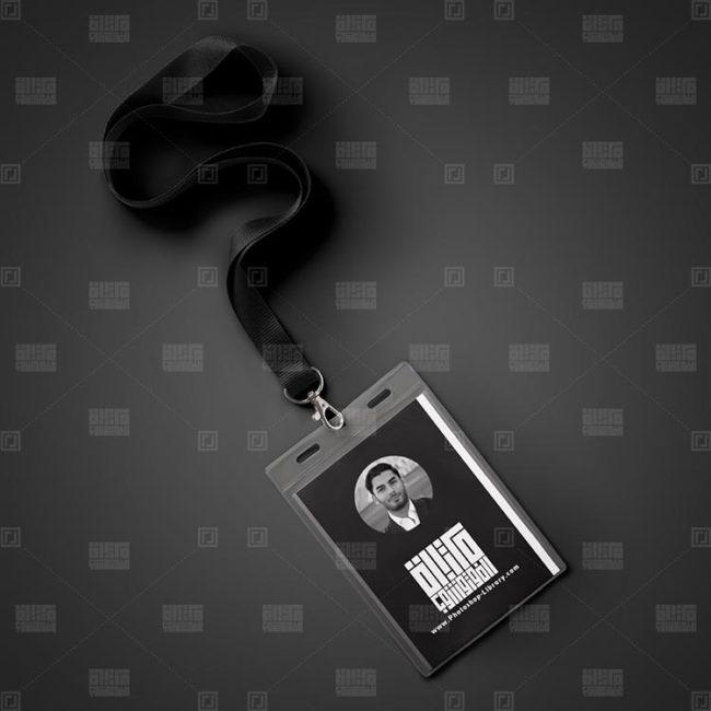 موك اب بطاقة تعريف شخصي New ID PSD Mockup