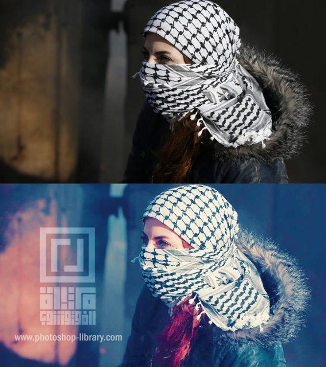 اكشن يضيف تاثير جميل ع الصور photoshop action beautiful effect to photos