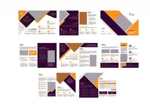 full page psd brochure