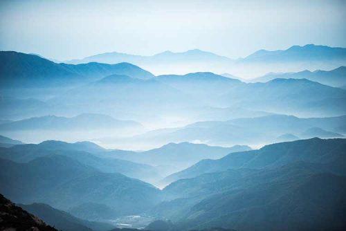 خلفية جبل