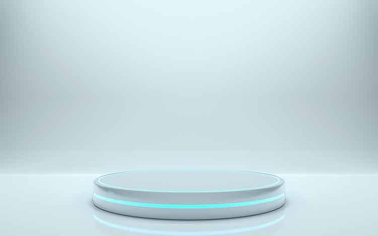خلفية منصة دائرية HD مجانا