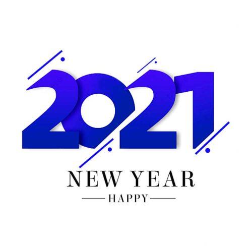 2021، بطاقة تهنئة، معايدة، صورة سنة جديدة سعيدة مجانا
