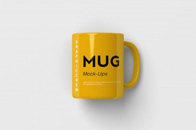 موك اب مج Mug Mockup PSD