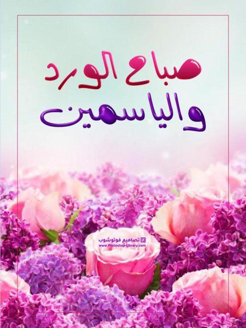 صباح الورد ، صور صباح الورد والياسمين ، صور ورد للصباح جميلة جديدة ، ورد الصباح