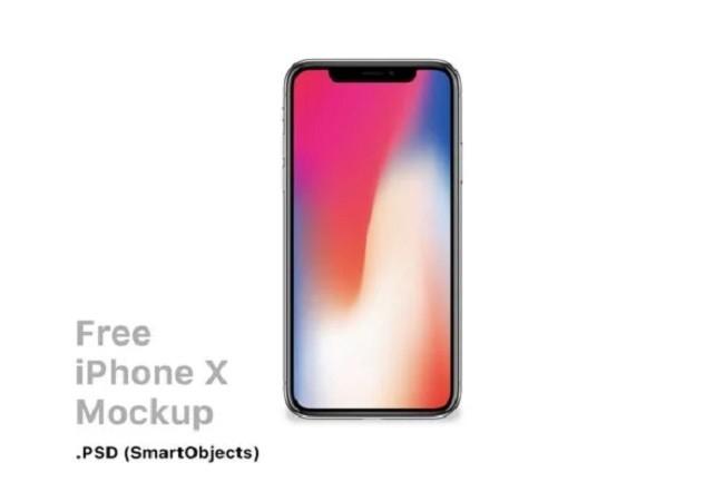 موك اب iPhone X