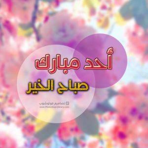 اجمل صور وخلفيات احد مبارك صباح الخير روعه راقية. احلى بوستات بطاقات ورمزيات كروت معايدات صباح يوم الأحد منشورات جميلة تويتر.