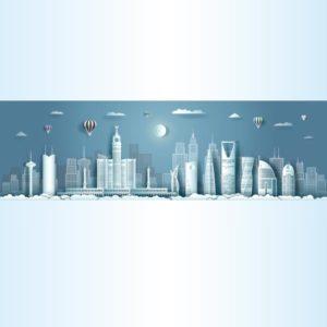 معالم السعودية ابراج الحرم المكي والمدني الرياض جدة eps, ai vector, design, file . مفتوح قابل للتعديل على اليستريتور مجانا .