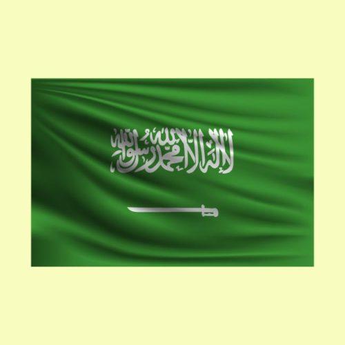 العلم السعودي Saudi Logo Vectors Free Download للتصميم مفتوح قابل للتعديل على اليستريتور مجانا .