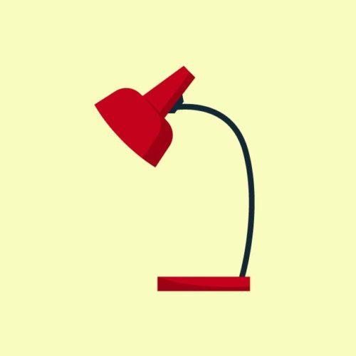 فيكتور مصباح مكتب Desk lamp office eps, ai vector, design, file للتصميم مفتوح قابل للتعديل على اليستريتور مجانا .