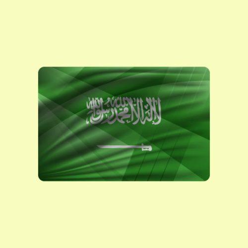علم المملكة العربية السعودية Saudi Arabia flag, vector illustration تنزيل علم السعودية فكتور Download Saudi Arabia Flag Eps Ai .